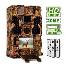 20MP Outdoor Hunting Game Trail Camera Waterproof Low Glow Night Vision Security