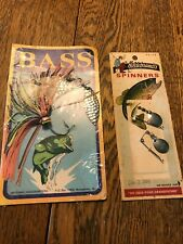 Vintage Hildebrandt's Spinners and B.A.S.S. Spinner Lure