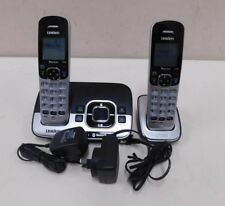 Uniden DECT 3136BT+1 Twin Bluetooth Silver/Black Cordless Phone