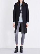 bnwt Allsaints NEHRU coat.black.fitted.uk 14.Eryn.