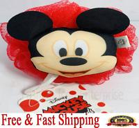Disney Bath Puff Disney Bath Sponge Mickey Mouse Kids Soft Bath Sponge Pouf