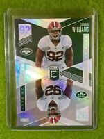 QUINNEN WILLIAMS ROOKIE CARD ELITE JERSEY #92 ALABAMA JETS 2019 ON DECK SP PRIZM