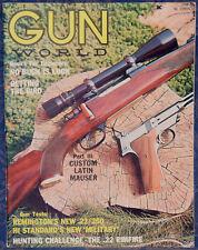 Magazine GUN WORLD August 1965 !! Russian PP 34/38 & PPSh.41 Submachine GUNS !!