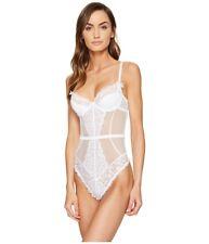 7b6b79c579 L agent by Agent Provocateur 6014 White Reia Underwire Bodysuit Size 32e