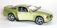 NEU: 2006 Ford Mustang GT grün Sammlermodell 1:38 ca. 12,5cm Neuware v. KINSMART