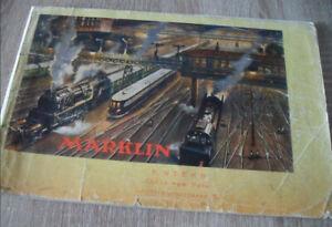 Märklin Katalog 1939/40 Orginal,