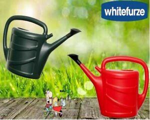 Garden Watering Can Light Weight Plastic Plants Indoor/Outdoor Red Watering Can