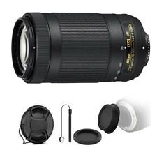 Nikon AF-P DX NIKKOR 70-300mm f/4.5-6.3G ED VR Lens + Top Bundle