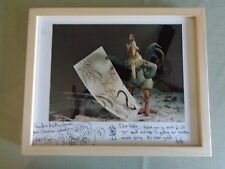 Dreamworks Chicken Run Movie Signed Sketched Nick Park Peter Lord Cast Gift