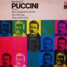Puccini(Vinyl LP)Your Kind Of-HMV-YKM 5009-UK-VG+/NM