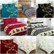 Brand New Design Flanlette 100% Brushed Cotton Warm Cosy Duvet Sets Exclusive