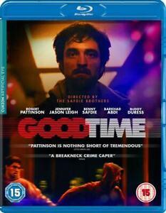 Good Time (Robert Pattinson, Benny Safdie, Barkhad Abdi) New Region B Blu-ray