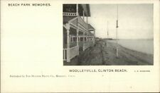 Wooleyville Clinton Beach CT c1905 Postcard