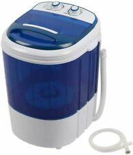 Portable Mini Laundry Washing Machine Electric Compact Washer Tub Blue