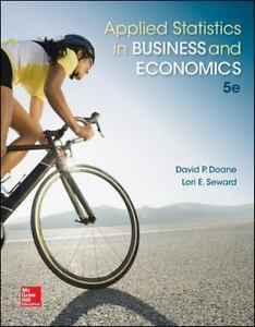 Applied Statistics in Business and Economics 9780077837303
