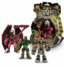 Gormiti Poseable Monster Action Toy Figures Lord Tasaru Firespitter Lord Agrom