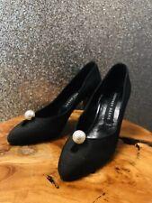 Vintage Geoffrey Beene Black Low Heel Pump Sz 6