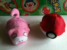 Pokemon Plush Slowpoke Reversible Soft Pokeball doll stuffed figure toy slowking