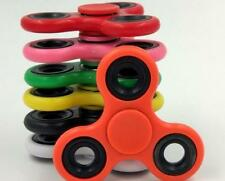 LOT 100PC HAND SPINNER TRI FIDGET STEEL BALL TOY EDC FINGER GYRO FOR KIDS ADULT