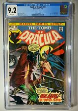 Tomb of Dracula #10 1st Blade CGC 9.2  RARE White Pages