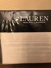 Ralph Lauren DUNHAM SATEEN 4 Piece QUEEN Sheet Set Opal Gray New