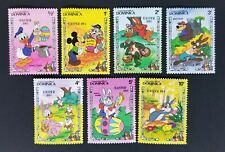 Dominica 1984 Disney Easter MH SC#832-8 Set of 7