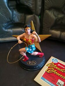 Hallmark / DC Comics - Golden Age Collection- Wonder Woman Handcrafted 3-13
