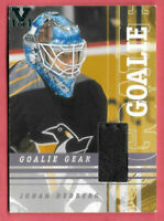 2015-16 Johan Hedberg ITG Final Vault 2001-02 BAP Between the Pipes Gear 1/1
