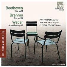 CD de musique en album trio SACD