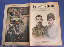 Le petit journal 1892 59 prince albert-victor de galles et princesse de teck