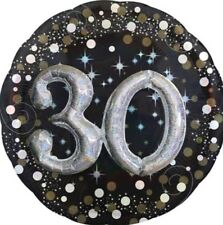 30th Birthday Party Balloon - 3D Sparkling Celebration New In Package