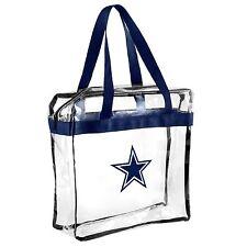 Dallas Cowboys CLEAR Messenger Tote Bag Purse - Meets Stadium Security Reqs
