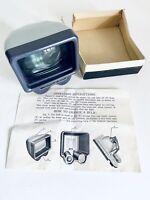 "Vintage Oplenox Japan Model II 2""x 2"" Slide Light Viewer w Box & Instructions"