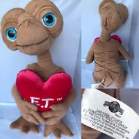 """E.T. Plush Soft Toy with Heart Universal Studios Large 16"""" Extra Terrestrial"""