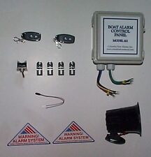 Model 411 Basic boat security alarm alarm package (No alarm sensors in package)