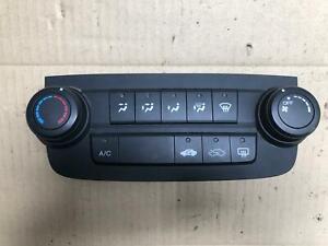 Honda CR-V Heater Controls RE 03/2007-10/2012