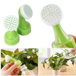 2 BOTTLE TOP ROSE / WATERER / SPRINKLER SPOUT for Recycle Bottles sprinkler head