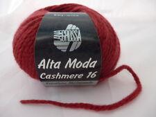 Alta Moda Cashmere 16 Color 10 = Rojo Oscuro 50g