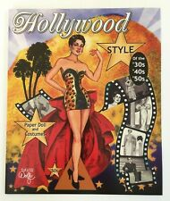 Hollywood Style Of The '30s '40s and '50s Paper Dolls w/Fabulous Movie Costumes