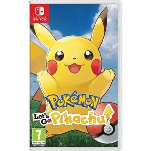 Pokemon: Let's Go! Pikachu! For Nintendo Switch