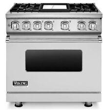 "Viking VDR7364GSS 36"" ""Prostyle Dualfuel Range Stainless Steel"