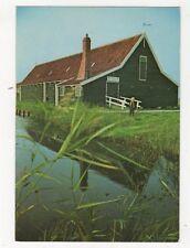 Zaandam Zaanse Schans Kijkschuur De Lelie Netherlands Postcard 616a