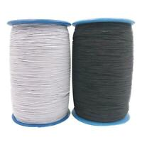 2 Rolls Elastic Latex Line Rope Quilting Thread Stitching Sewing Tool Kit #JT1