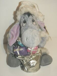 Disney Store Limited Edition Eeyore in Winter Clothes Medium Soft Toy 32cm 2008