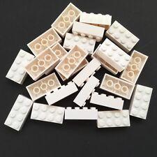 30 Lego® Fenstersteine bogenförmig weiß