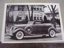 1935 LINCOLN VICTORIA   12 X 18 LARGE PICTURE  PHOTO