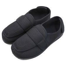 Mens Extra Wide Diabetic Slippers Swollen Feet Arthritis Edema Shoes Breathable
