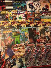 Huge Lot 165+ W/Superman, Aquaman, Captain America, Deathblow, Raika & More