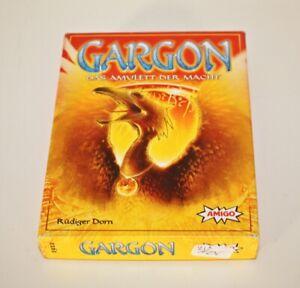 Gargon Das Amulett der Macht - Kartenspiel von Amigo - Top Zustand