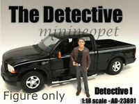 AMERICAN DIORAMA THE DETECTIVE FIGURE FOR 1/18 MODEL CAR AD-23891 DETECTIVE #1